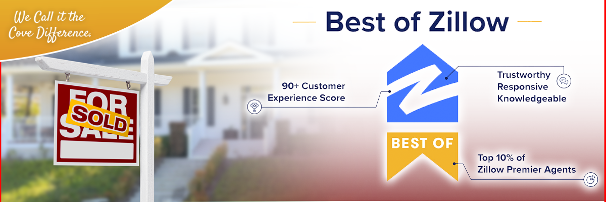 Best of Zillow Banner | Cove Realty