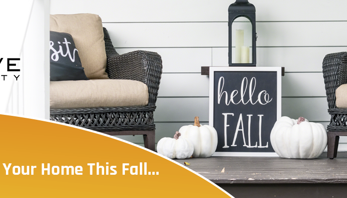 List Your Home this Fall | Cove Realty