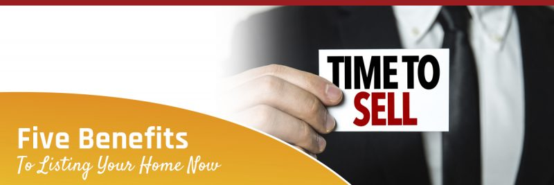 Time to List Your Home, Time to Sell